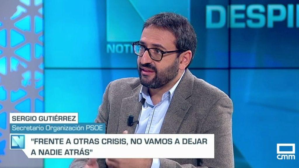 """Gutiérrez: """"No va a haber recortes, hay que reforzar más que nunca la sanidad"""""""