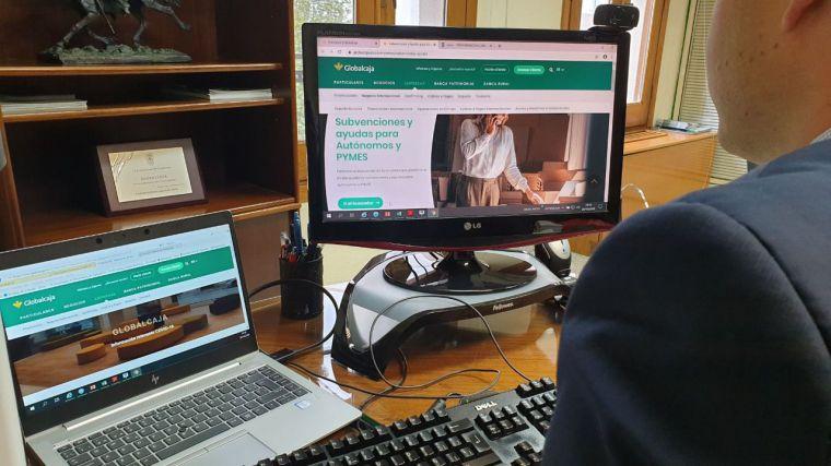 Globalcaja pone a disposición de empresas y autónomos un buscador de ayudas y subvenciones