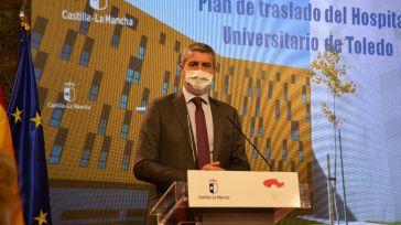 Álvaro Gutiérrez: 'El nuevo Hospital Universitario de Toledo será un referente sanitario en Castilla-La Mancha'
