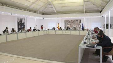 Pedro Sánchez preside la reunión del Consejo de Ministros el pasado miércoles.