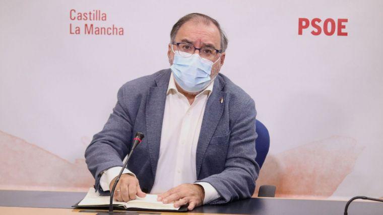 """Mora (PSOE) denuncia que el PP no ha apoyado """"absolutamente ninguna medida"""" del Gobierno de CLM contra la pandemia"""
