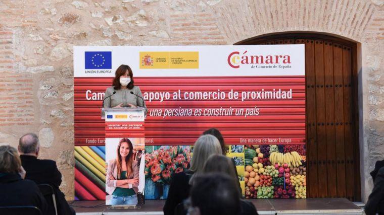 """El Gobierno de Castilla-La Mancha traslada su apoyo al sector del comercio """"que es el que hace que nuestros pueblos y ciudades sigan estado vivas"""""""