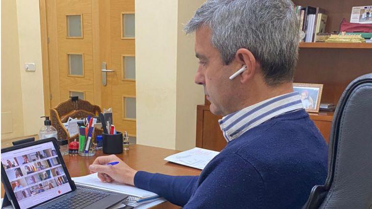 Álvaro Gutiérre considera fundamental que las diputaciones provinciales también participen en la gestión de los fondos europeos para la recuperación