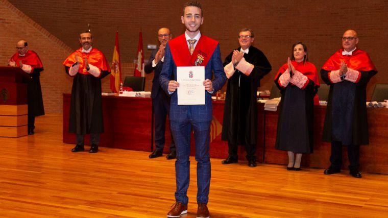 Miguel Ángel Sevilla Duro, exalumno de la UCLM, Mejor Graduado en Derecho de España