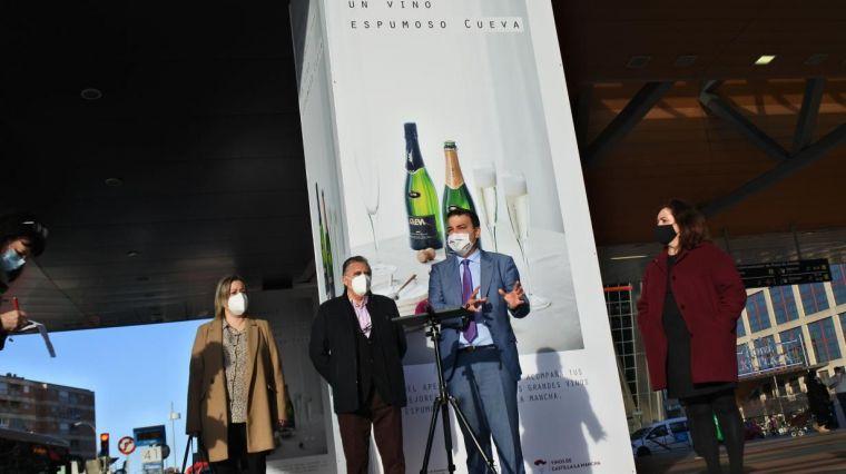 Los espumosos Cueva de Castilla-La Mancha se promocionan en Madrid durante un mes para llegar a la mesas de los consumidores estas Navidades