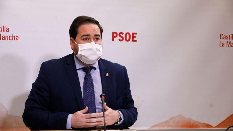"""Camacho (PSOE): """"Cada día del año 2021, el Gobierno regional destinará 18 millones de euros para financiar el Estado del Bienestar"""""""
