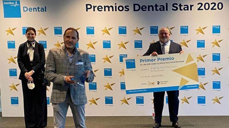 La clínica ciudarrealeña CIMAX recibe el primer premio de la III edición de los Premios Dental Star 2020 de Sanitas