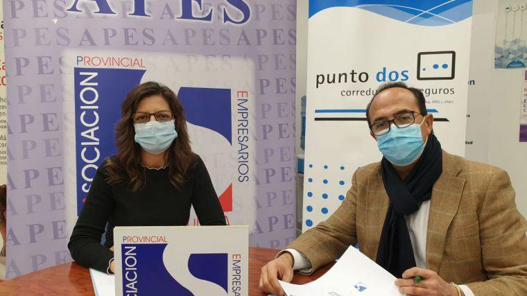APES firma un convenio de colaboración con Punto Dos Correduría