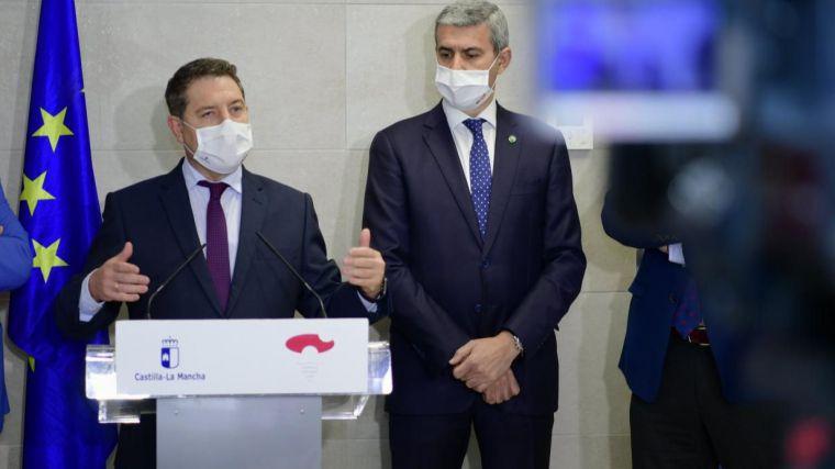 """García-Page anuncia una nueva Oferta Pública de Empleo de casi 2.000 plazas """"fundamentalmente para Sanidad y Educación"""""""
