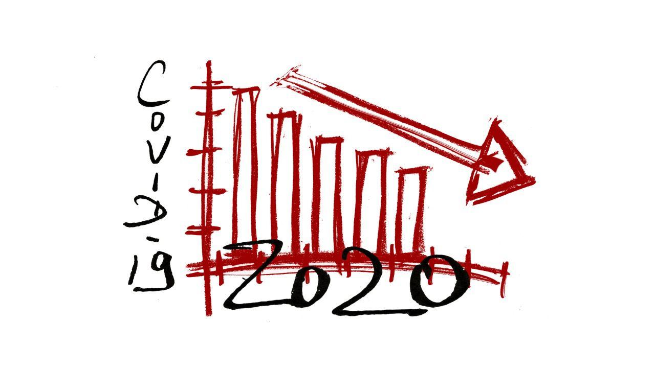 El INE revisa a la baja la evolución de la economía española, que cae el 9% anual
