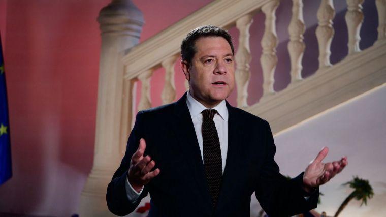 """García-Page aboga por la unidad del país y pide realizar un """"esfuerzo colectivo"""" frente al virus y por el crecimiento en igualdad"""