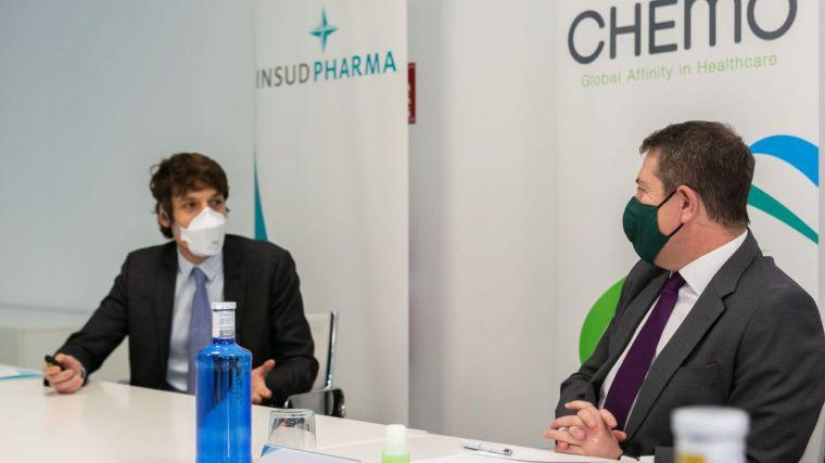 Insud Pharma (Guadalajara) firma un acuerdo con AstraZeneca para fabricar los viales de su vacuna contra la Covid´19