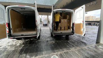 El Gobierno de CLM ha superado los 39 millones de artículos de protección enviados a los centros sanitarios desde el inicio de la pandemia