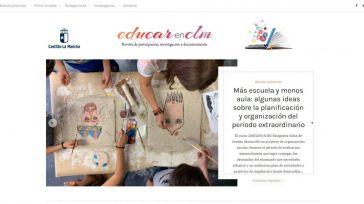 La Junta relanza la revista digital 'EducarenCLM' para acercar el trabajo de la comunidad educativa a toda la ciudadanía