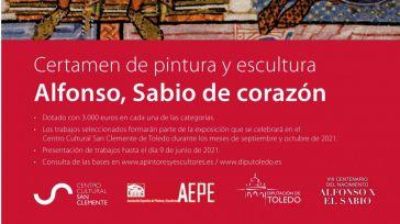 La Diputación de Toledo homenajea a Alfonso X El Sabio con un certamen nacional de pintura y escultura