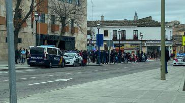 Los bomberos desalojan los Juzgados de Toledo