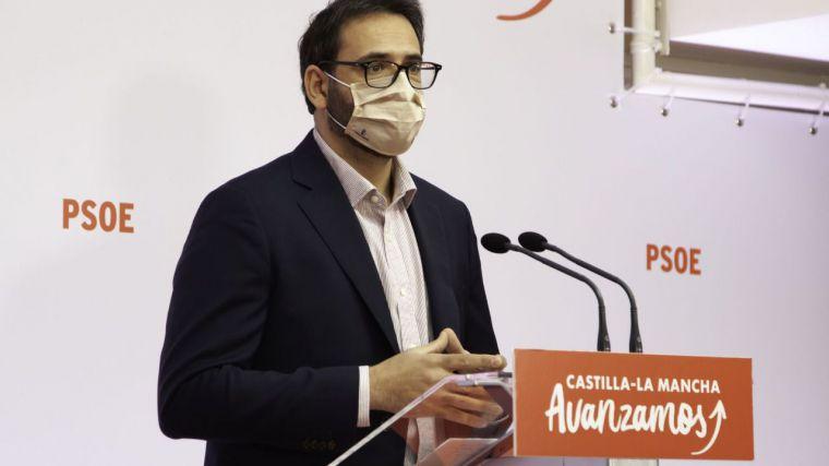 """Gutiérrez: """"Hace mucho tiempo que al PP, al menos en esta tierra, se le olvidaron los crespones negros"""""""
