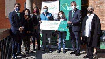 El programa de inclusión laboral de Afannes Toledo recibe 7.000 euros del premio Workin otorgado por Eurocaja Rural