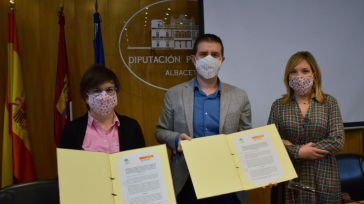 La Diputación de Albacete destinará 30.000 euros para la recogida textil de Cáritas y 15.000 más a renovar sus contenedores
