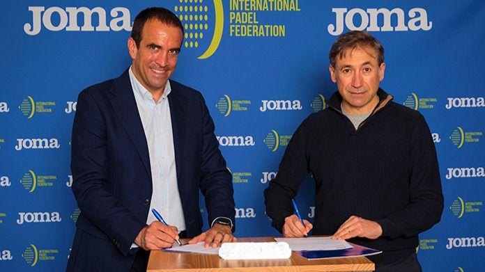 Joma será el nuevo patrocinador técnico de la Federación Internacional de Pádel