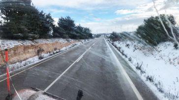 CLM empezará a repartir material fundente por las carreteras de la región ante la llegada del temporal de frío