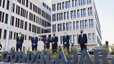 Guadalajara inaugura su Palacio de Justicia en medio de la pandemia, un edificio que simboliza 'futuro y modernización'