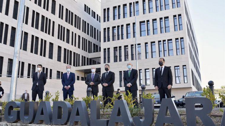 Guadalajara inaugura su Palacio de Justicia en medio de la pandemia, un edificio que simboliza