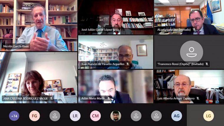 La UCLM reúne en un seminario en línea a los mayores expertos en justicia restaurativa