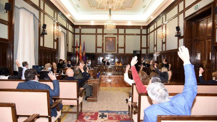 El pleno de la Diputación de Guadalajara aprueba por unanimidad el Plan Extraordinario de Inversiones