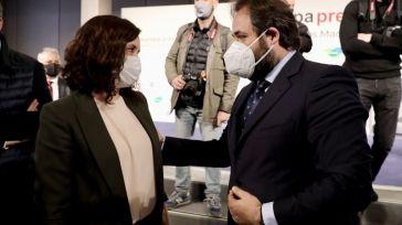 Núñez contrapone el modelo de 'gestión en libertad y con eficacia' de Ayuso en Madrid frente al de 'la descalificación y la prohibición' de Page en Castilla-La Mancha