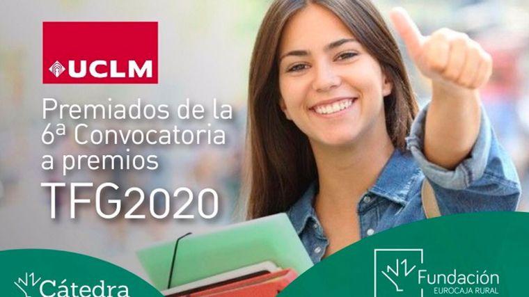 Fallados los premios a los diez mejores Trabajos de Fin de Grado de 2020 por la Cátedra Fundación Eurocaja Rural-UCLM
