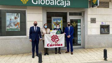 Globalcaja colabora con el programa de alimentación que Cáritas desarrolla en Viso del Marqués (Ciudad Real)