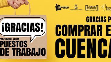 Los comerciantes de Cuenca lanzan una campaña de agradecimiento al consumidor por elegir el comercio local