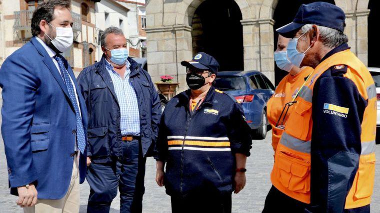 Núñez pide que la flexibilización de las restricciones en hostelería contemple barras abiertas al 50% y terrazas al 70%