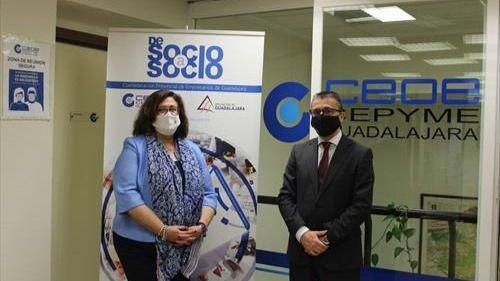 La Asociación EFA El Llano firma un acuerdo para poder acceder al proyecto 'De socio a socio' de CEOE-Cepyme Guadalajara