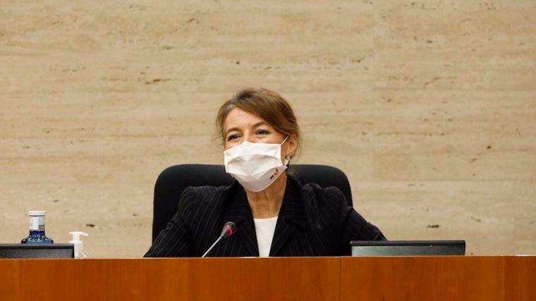 Las Cortes regionales ratifican a Aurelia Sánchez como senadora por designación autonómica tras la muerte de Vaquero