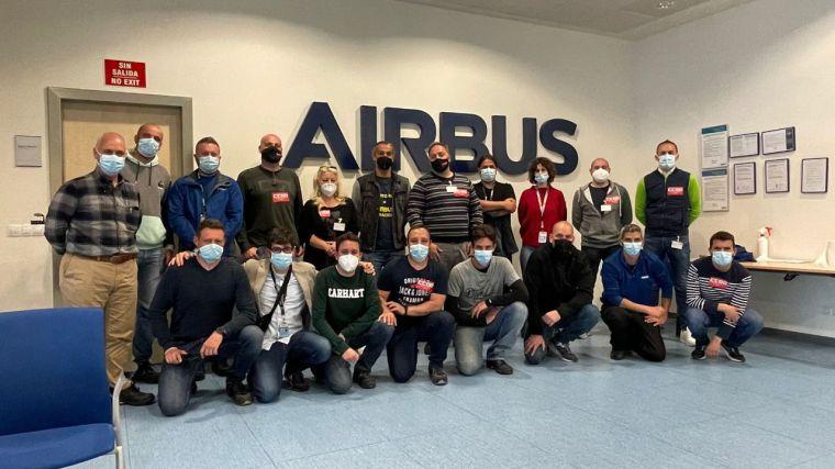 La sección sindical de CCOO en Airbus Illescas recibe el apoyo de los nuevos responsables de CCOO-Toledo y de su federación de Industria