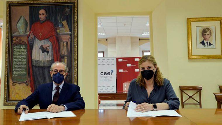 Acuerdo UCLM-CEEI para favorecer las iniciativas empresariales promovidas por los estudiantes