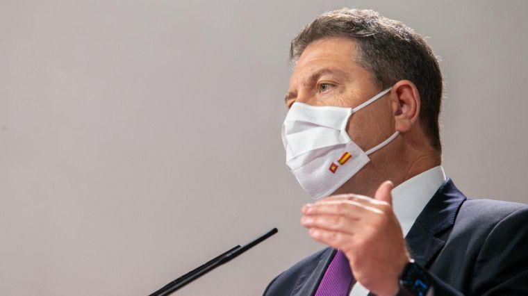 """García-Page aboga por pasar """"del estado de alarma a un estado de prudencia extrema"""" y avanza que se intensificará el rastreo del virus en esta nueva etapa"""