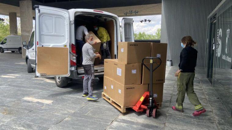 CLM ha superado los 47 millones de artículos de protección enviados a los centros sanitarios desde el inicio de la pandemia