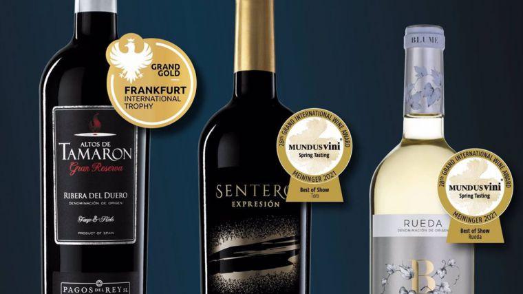 Félix Solís coloca su Gran Reserva Altos de Tamarón como Mejor Vino Español en el 'Frankfurt International Trophy'