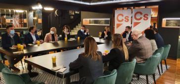 Picazo escucha necesidades de empresarios y apuntala junto a ellos propuestas para que Ciudadanos transforme C-LM