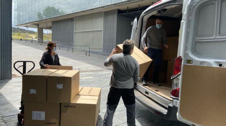 El Gobierno de Castilla-La Mancha mantiene el reparto artículos de protección en los centros sanitarios, con otros 272.000 esta semana
