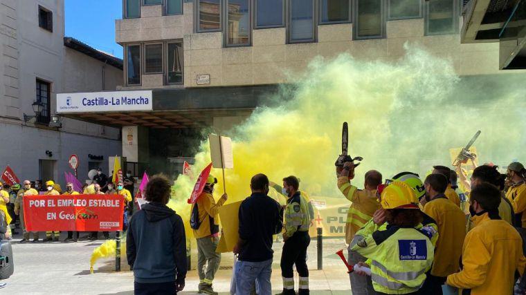 Las huelgas en Geacam arrancan en Guadalajara con un seguimiento casi unánime, superior al 93%