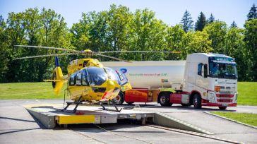 Airbus colabora en la descarbonización de los vuelos en helicóptero con combustibles sostenibles