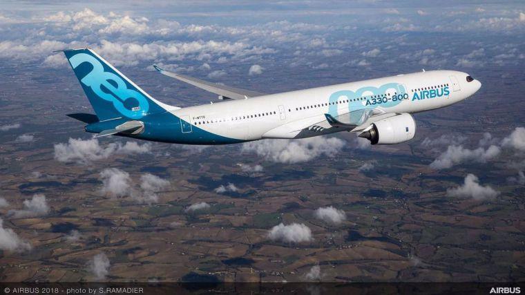 Airbus ha entregado 220 aviones hasta mayo, un 38% más que en el mismo periodo de 2020