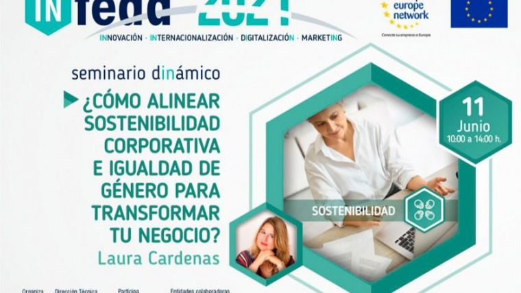 La sostenibilidad corporativa y la igualdad como herramienta competitiva en el tercer seminario del programa IN-FEDA