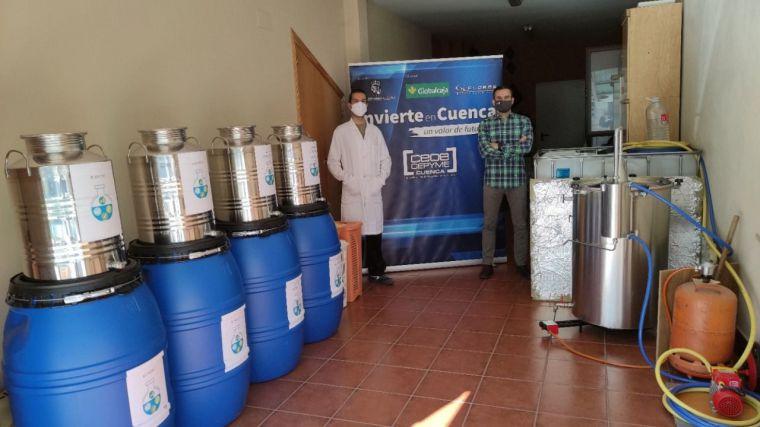 Invierte en Cuenca anuncia la puesta en marcha de la destilería artesanal Esencias Silvestres