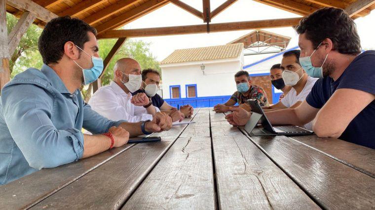 Ciudadanos trasladará a las Cortes de Castilla-La Mancha la problemática de las Lagunas de Villafranca