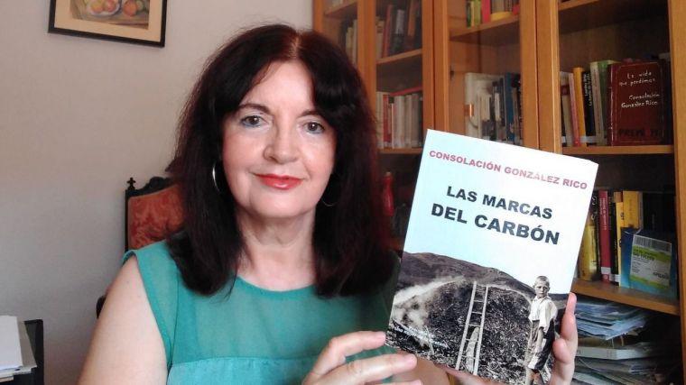 """Consolación González presenta mañana en Robledo del Mazo su última novela """"Las marcas del carbón"""""""